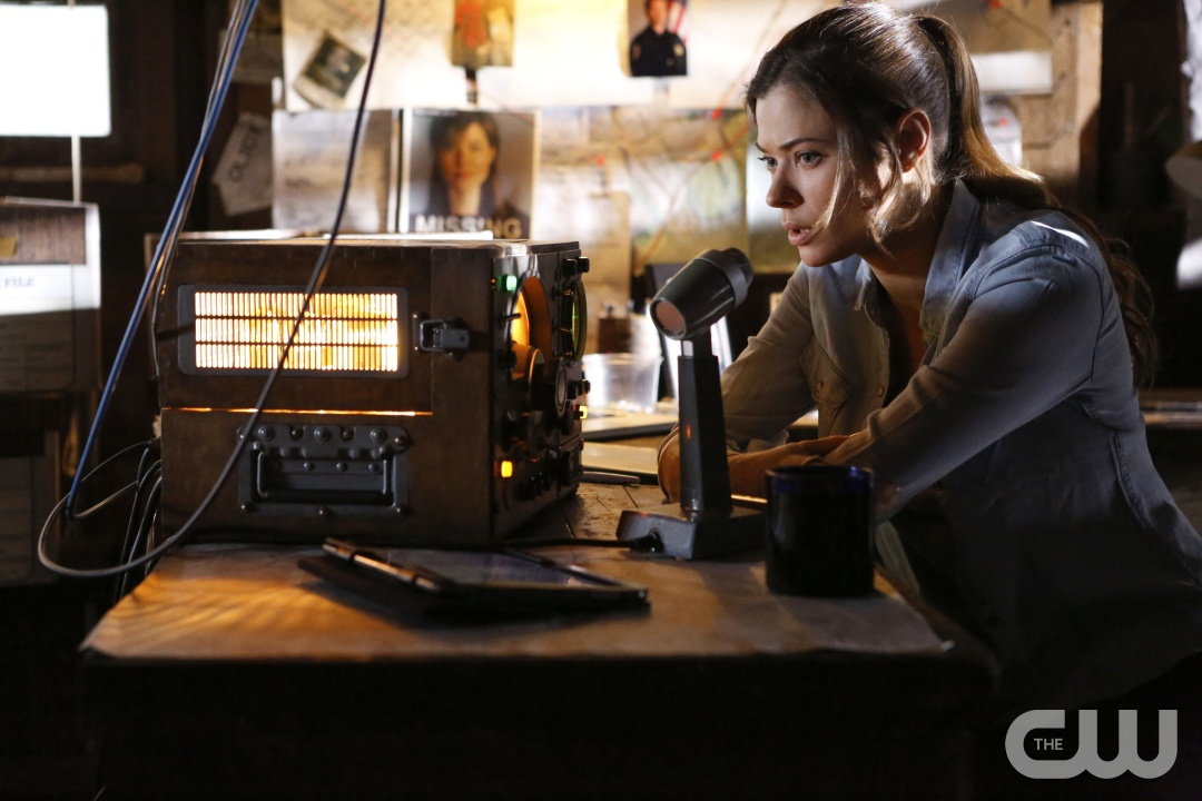 "Frequency -- ""Pilot"" -- Pictured: Peyton List as Raimy -- Photo: Bettina Strauss/The CW."