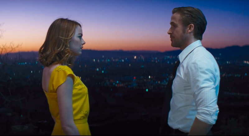 Ryan Gosling in La La Land