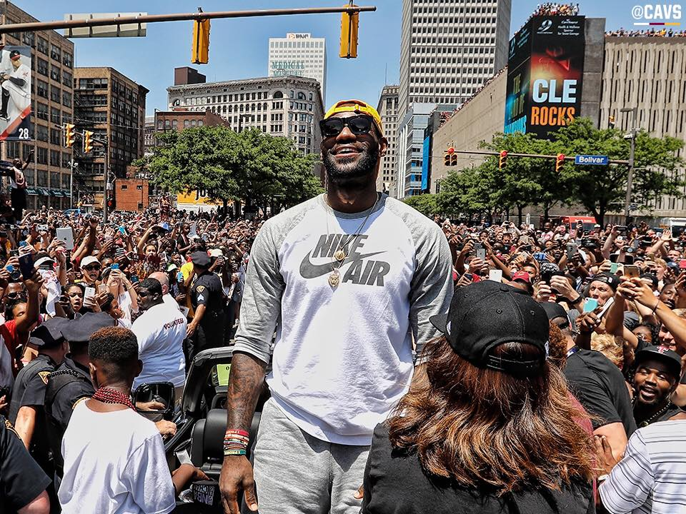 Image Courtesy of Cleveland Cavaliers/Facebook