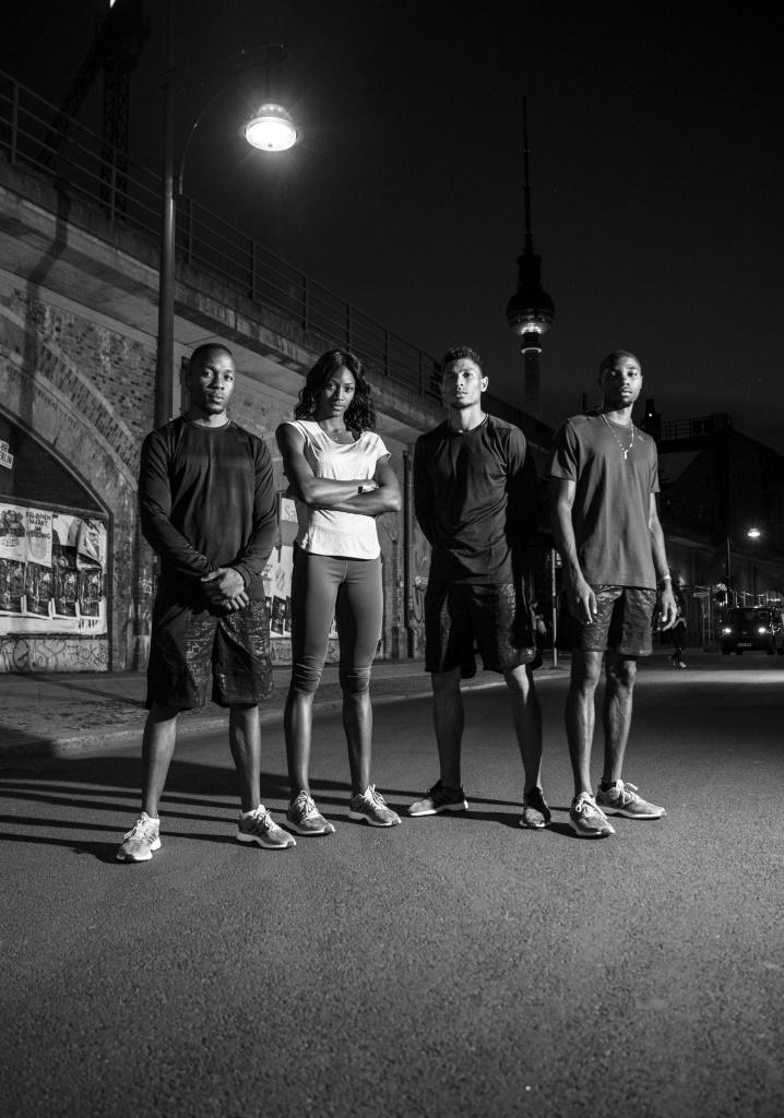 Akani Simbine, Shaunae Miller, Wayde Van Niekerk, Noah Lyles