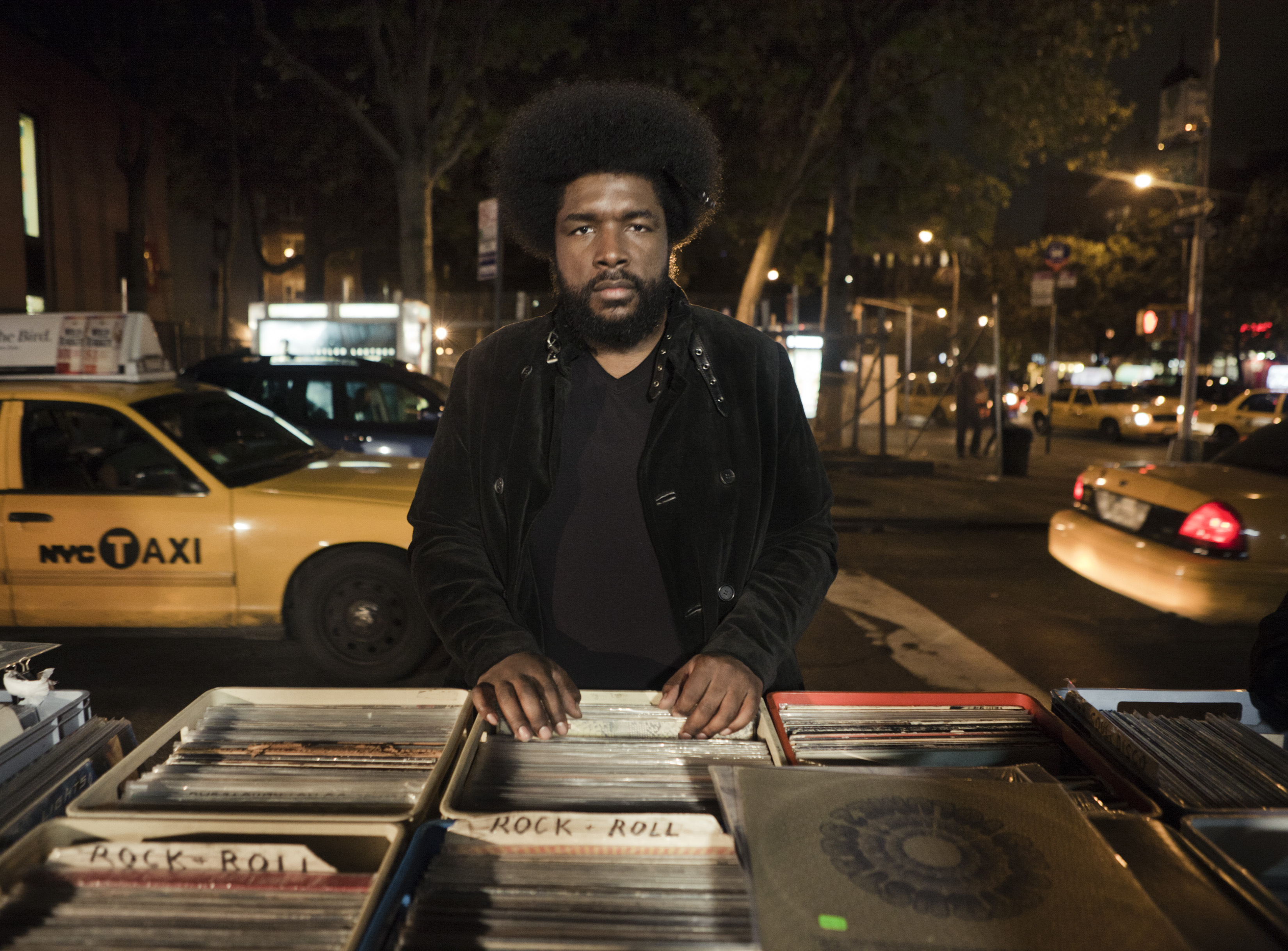 Questlove NYC Records Pic