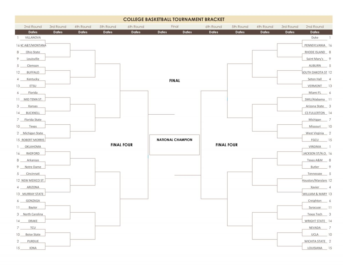 March Madness 2018-11418