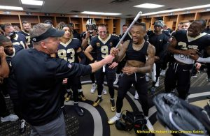 Image Courtesy of Michael Hebert/New Orleans Saints