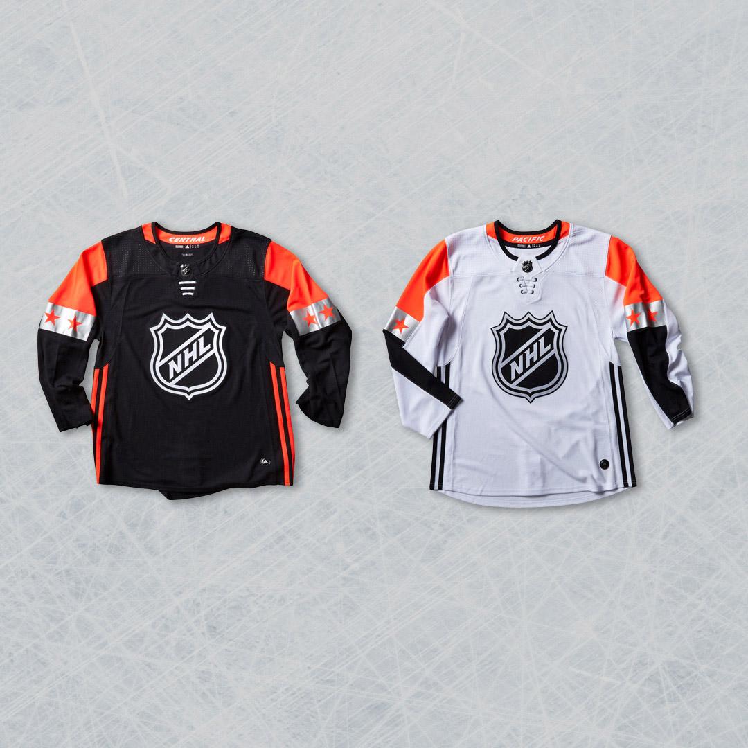 adidas adizero NHL All-Star_Central x Pacific_Sq