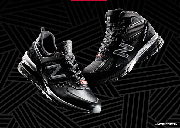 official photos 4147d 267e1 Marvel and New Balance Introduce the Black Panther ...