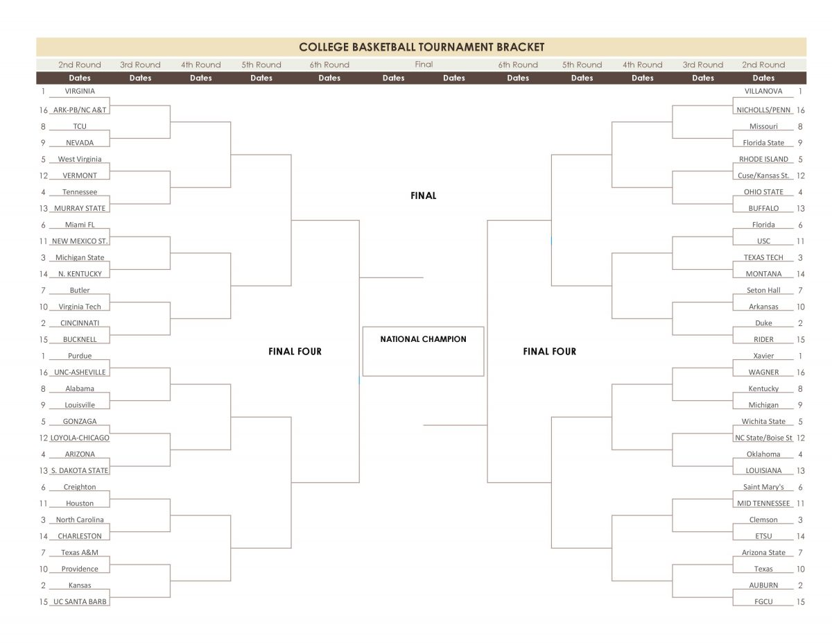 March Madness 2018-21218