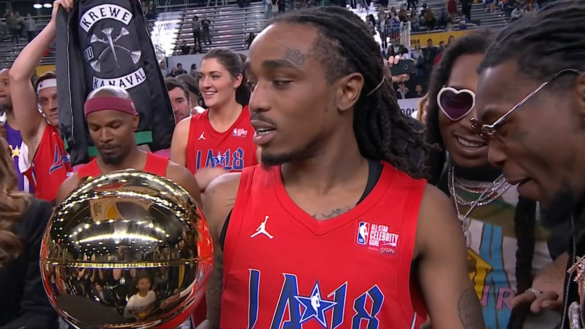 Top 10 NBA Celebrity All-Star Game Moments - YouTube