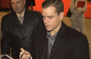 Poker and a secret agent, they don't come more badass than Matt Damon.