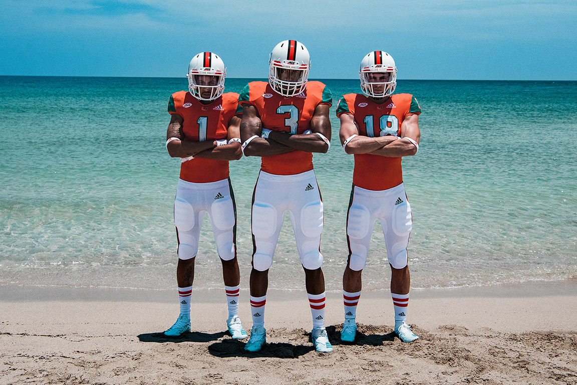 THE U & adidas Unveil Uniforms & Cleats Featuring Upcycled Marine Plastic Waste