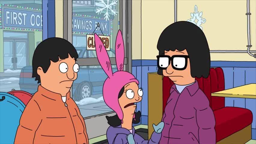 Bobs Burgers Christmas Episodes.Bob S Burgers Season 9 9 10 Better Off Sled Hardwood And
