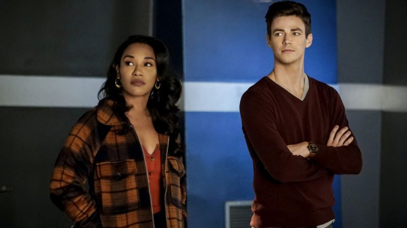 The Flash Season 5: 5.12: Memorabilia