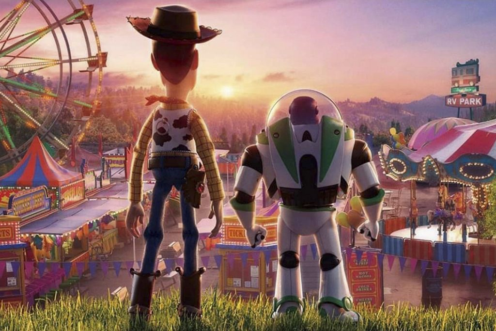 Tom Hanks and Tim Allen in Toy Story 4