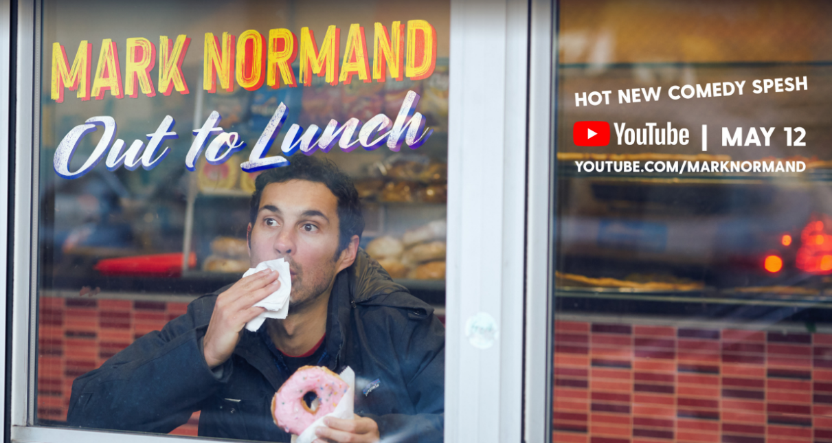 Mark Normand's YouTube Special 'Out to Lunch' is a Heaping Bowl of Hilarity